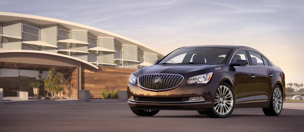 Buick launched new sedans