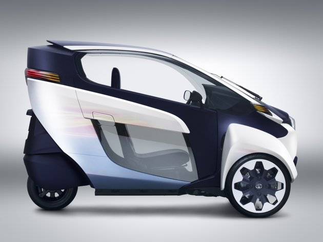 Toyota i-Road electric pod 2