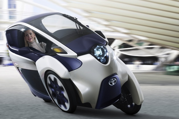 Toyota i-Road electric pod