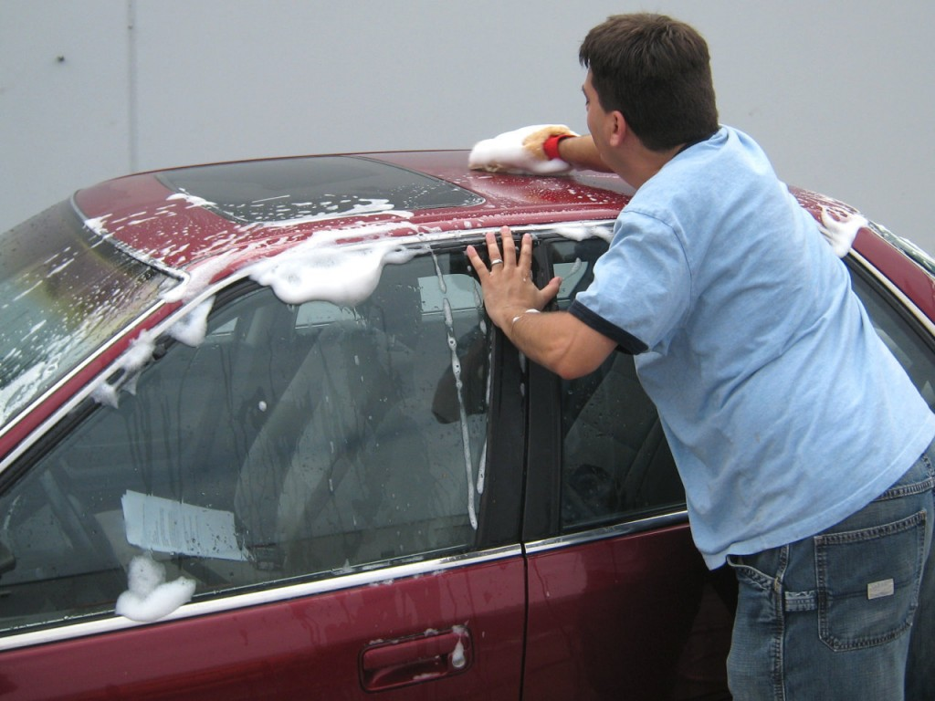 clean and wax your car