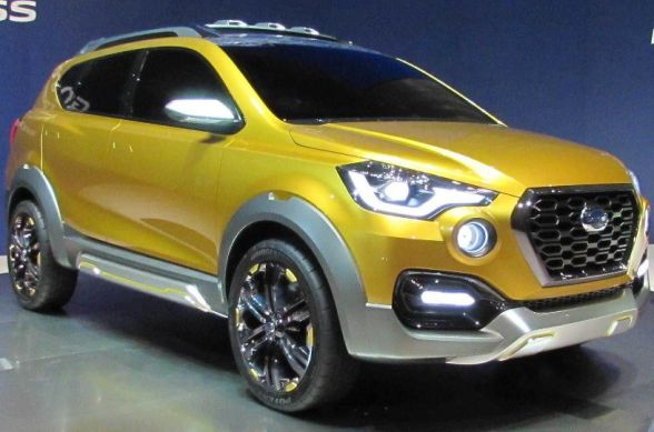 Datsun GO-Cross Engines, Features, Exterior