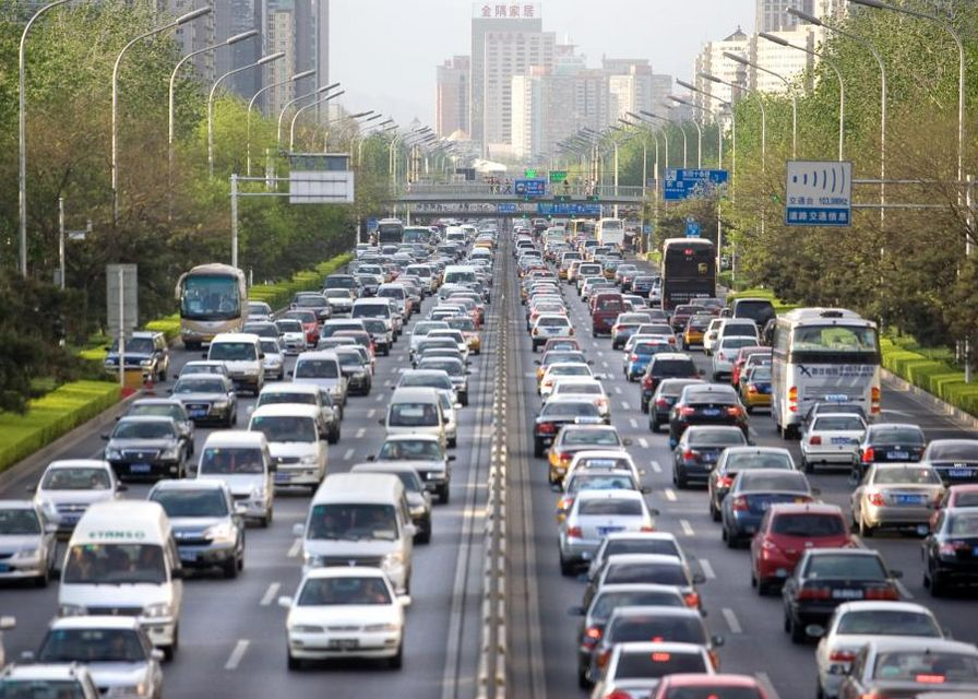 How to Drive in Heavy Traffic