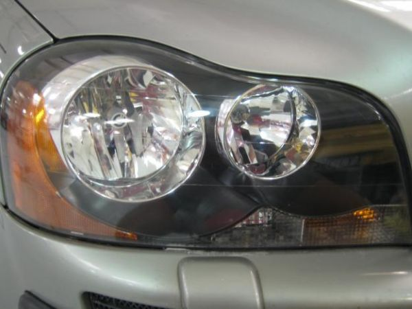 car's headlights
